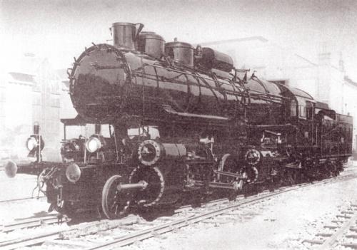 MÁV 601 був найпотужнішим локомотивом свої епохи (машинобудівний завод MÁV, 1914-1921)