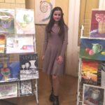 У Виноградівській районній бібліотеці для дітей стартувала творча виставка Євгенії Буй