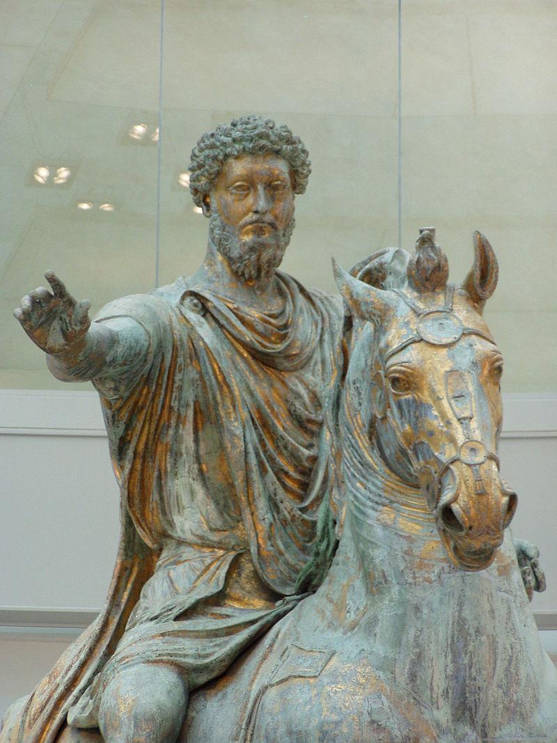 Імператор Марк Аврелій на коні